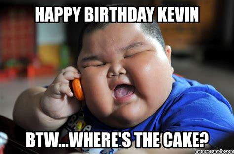 Meme Kevin - happy birthday kevin
