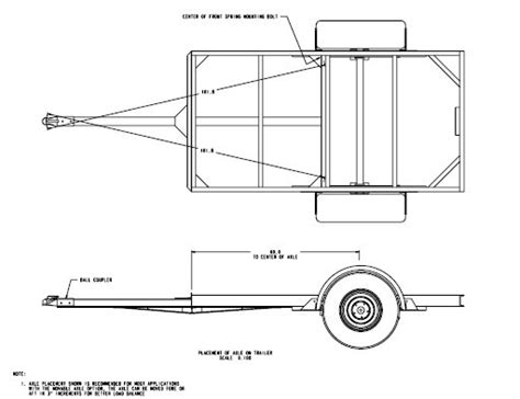4x8 Utility Trailer Plans Homedesignpictures Building Plans For Utility Trailers