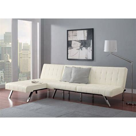 white chaise lounge sofa bed white leather futon chaise lounge tufted sofa bed