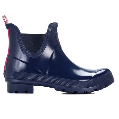 joules womens wellington boots blue green black wellies