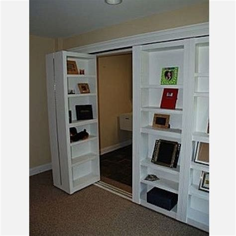 Closet Door Bookcase with Closet Door Bookcase For The Home Pinterest