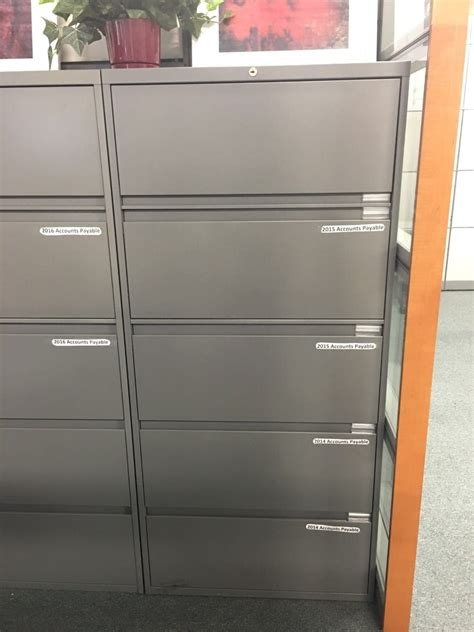 30 steelcase 900 5 drawer lateral file cabinet