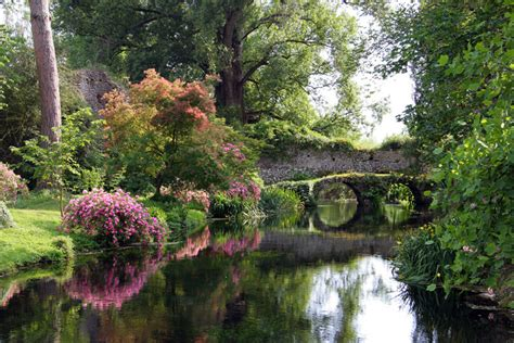 monty don on the best garden in the world ninfa garden