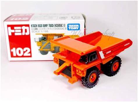 Tomica 102 Hitaci Rigid Dump Truck Eh3500ac Ii tomica 102 hitachi rigid dump truck eh3500ac ii tomy