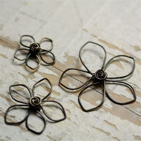 wire flowers wire flowers bijoux jewelry flower wire