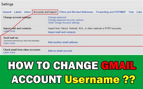 reset gmail to english how to change gmail account username knowledgeidea