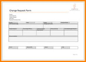 5 change request template resume reference