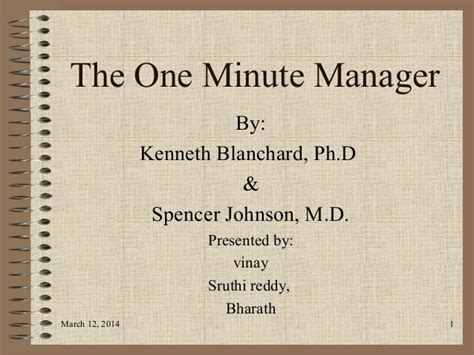 libro the one minute manager the one minute manager 1