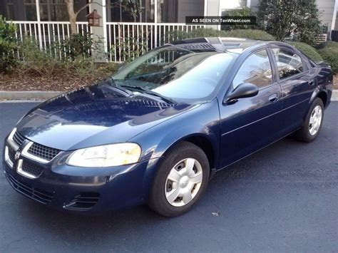 2006 dodge status 2006 dodge stratus information and photos zombiedrive