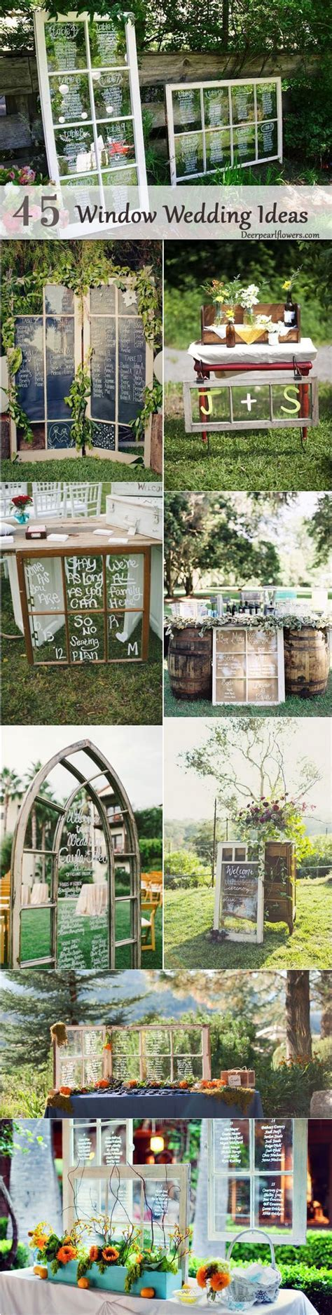 45 Fab Diy Window Decoration Ideas for Weddings   Wedding