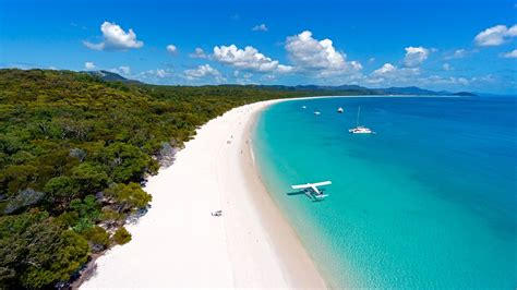 white haven beach whitsunday islands australia