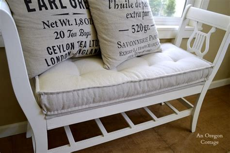 diy bench cushion diy tufted french mattress cushion ballard catalog knockoff