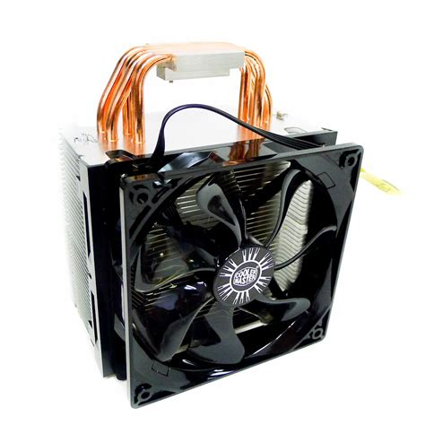 lga 2011 cpu fan first looks cooler master hyper 412 pwm cpu cooler with