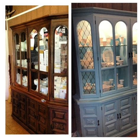 chalk painted china cabinet chalk painted china cabinet furniture