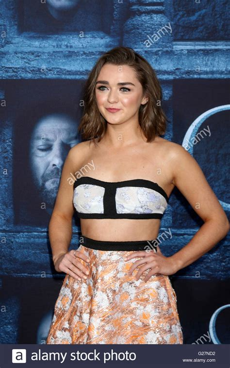actress of game of thrones season 2 game thrones actress maisie williams stock photos game