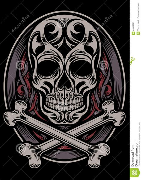 skull and crossbones stock vector image 40622790