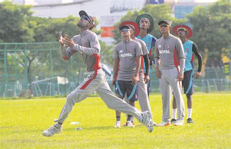 world cup qualifiers today my republica nepal beginning u 19 cricket world cup