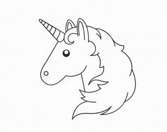 unicorn emoji coloring coloring pages