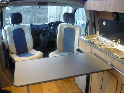Vw T5 Interior Layout Ideas | vw t5 cervan conversion interior layout with swivel