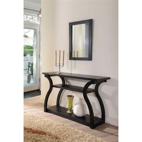 end sofa table sara black finish console table coffee furniture end