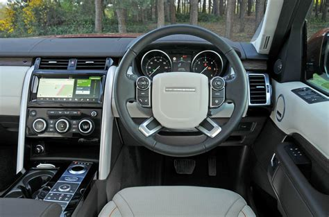 land rover discovery dashboard land rover discovery ride handling autocar