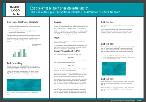 36 x 36 poster template 24 x 36 poster template powerpoint