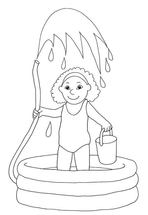 Coloring Page Water by Free Water Park Coloring Pages