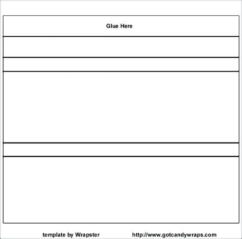 bar wrapper template microsoft word free bar wrapper template for word merry