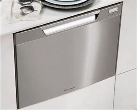 Apartment Size Dishwasher Drawers Looking For Low Water Usage In Your Tiny Home Try A Dish