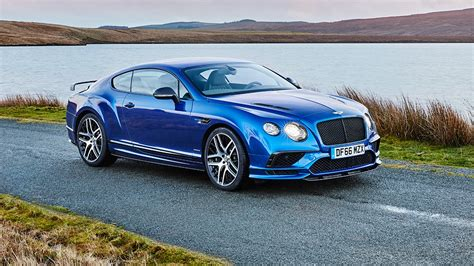bentley bentley bentley continental supersports 2017 review car magazine