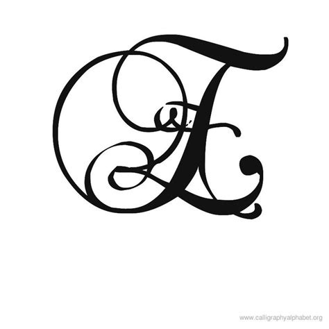 tattoo fonts romantic 12 best fancy calligraphy alphabet stencils images on