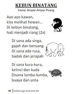 Kamus At Taufiq koleksi lagu anak indonesia arab taufiq net