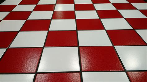 Craft Mosaic Tiles by Free Photo Tile Red White Floor Glossy Free Image