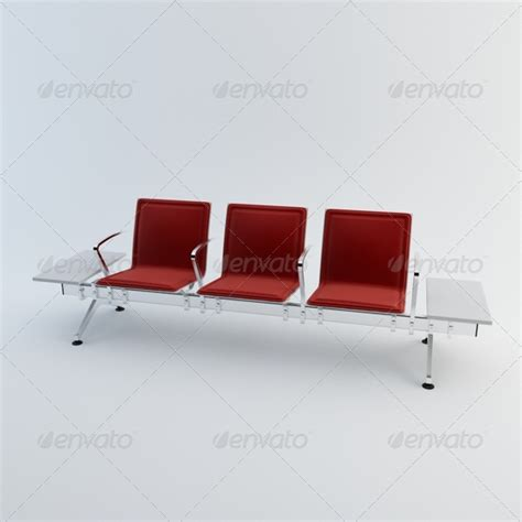 waiting area chairs 3d model 3d model waiting chairs