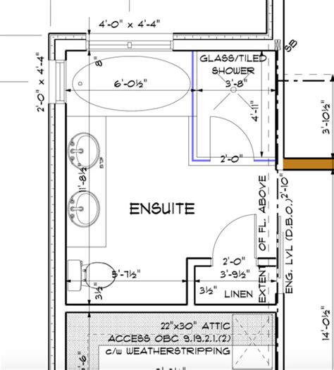 ensuite bathroom floor plans ensuite bathroom layout ideas