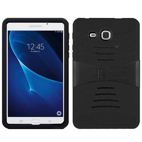 Softcase Armor Samsung Tab A 7 T280 T285 Casing Cover Silicone armor box defender hybrid rubber cover for samsung galaxy tab a 7 t280 t285