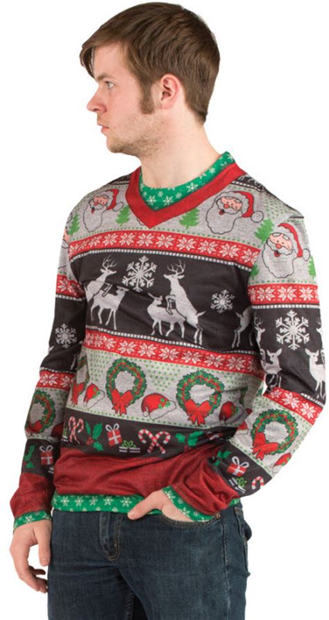 adult ugly christmas sweater adult costumes