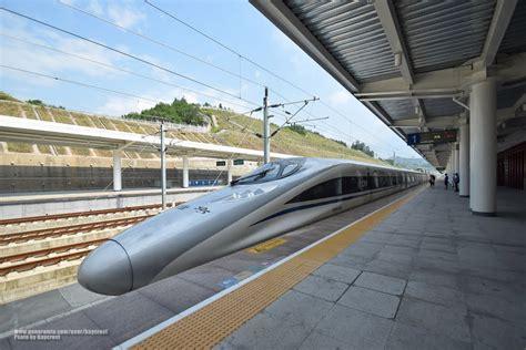Panoramio - Photo of 武夷山北站 合福高铁和谐号CRH380A型电力动车组 Hefei ...