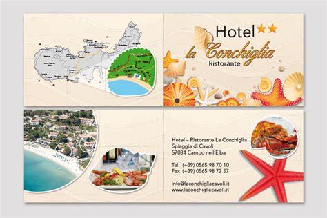Kaos Note Note 18 Bv biglietto da visita hotel la conchiglia elbaworld