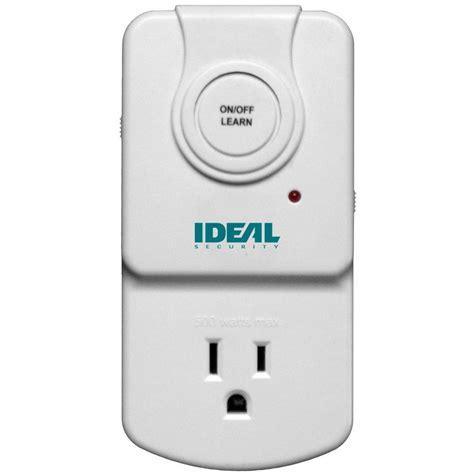 wireless light socket switch home depot ideal security wireless socket control sk635 the home depot