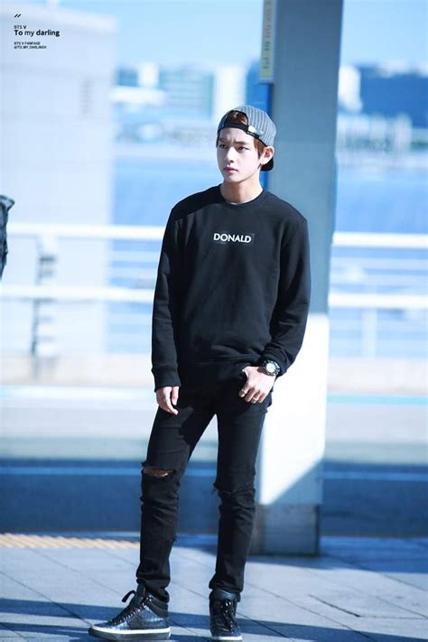 luxury gaya rambut jungkook model fashion terbaru airport fashion para member bts bangtan boys terbaru