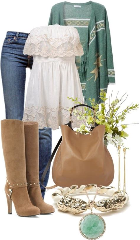 7 Pretty Vests For Fall by 20 Polyvore Ideas For Fall Pretty Designs
