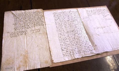 seventeenth century of isle of wight county va books replica 17th century documents heading to museum in isle