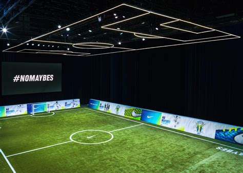 sports basement field nike brings nomaybes soccer experience space to vancouver