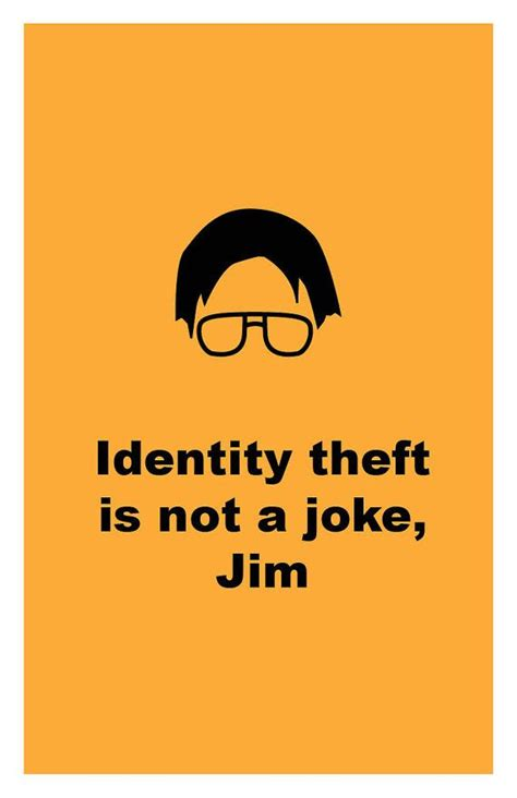 Jim Whiting Identity Theft beets bears battle galactica this is my all time favorite moment in the office favorite