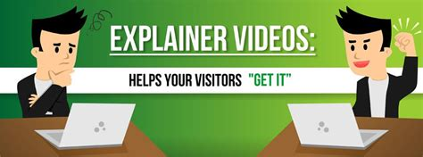 download explainer videos templates free green hat world