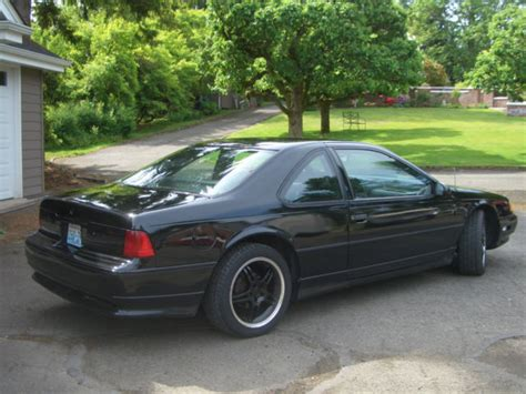 1990 ford thunderbird sc super coupe factory supercharged for sale in seattle washington