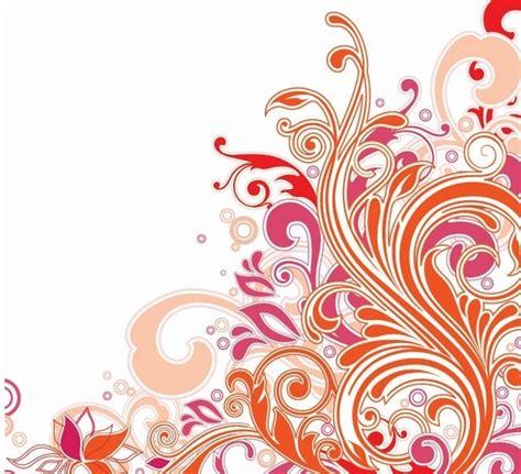 pattern art vector swirl floral design vector art free vector in encapsulated