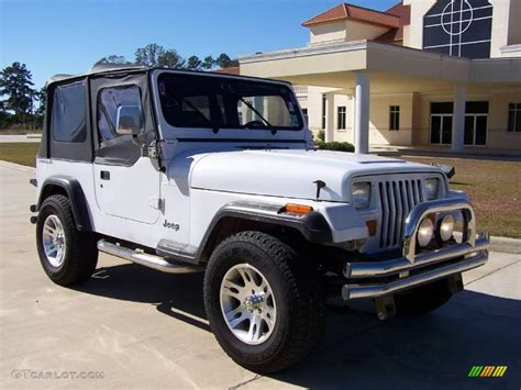 1994 bright white jeep wrangler s 4x4 4505888 gtcarlot car color galleries