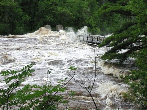 jay cooke state park swinging bridge flood damage keeps jay cooke park closed minnesota